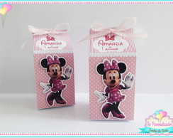 Caixa Milk Minnie Rosa