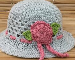 ... Chapéu Verão para Bebê em crochet 6549d5d1b4c