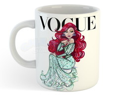 Caneca Princesa Disney Ariel by Vogue Mod 2