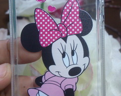 Capa Capinha Case Celular TPU Iphone 5/5s/SE Minnie