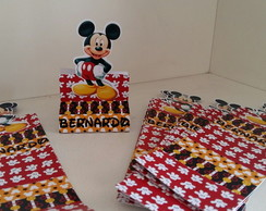 Porta chocolate duplo Mickey aplique M