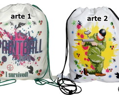 Mochila Paintball 25x30