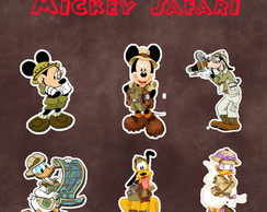 Recortes - Turma Mickey Safari