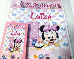Kit de colorir baby Disney