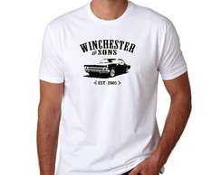 Camiseta Geek Série Supernatural