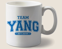 Caneca Team Yang - Greys Anatomy