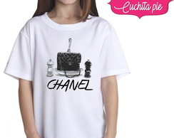 Camiseta Infantil - Chanel Food