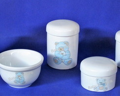Kit de Higiene Bebe Usinho Porcelana