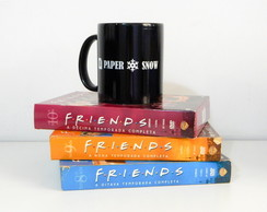 Caneca Friends Paper Snow A Ghost!