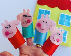 Dedoches Peppa Pig - quiet book