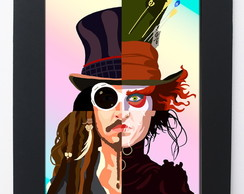Quadro Personagens do Johnny Depp