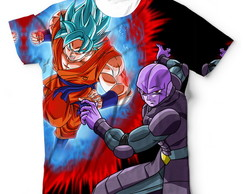 Camisa Camiseta Blusa Goku Super Vs Hit Dragon Ball Super