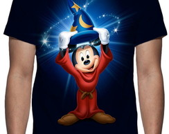 Camiseta Mickey Chapéu Mágico - Estampa Total