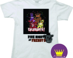 Camiseta Infantil Five Nights at Freddy's 01