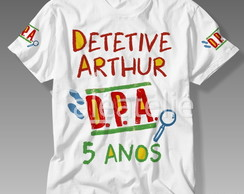 Camisetas DPA Detetives do Prédio Azul Personalizadas