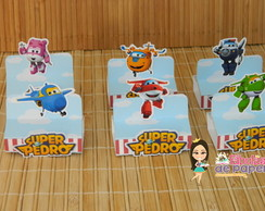 Porta Chocolate Duplo Super Wings