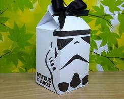 Caixa Milk Stormtrooper- Star Wars