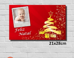 Placa Decorativa - Natal