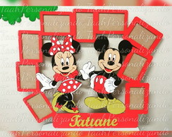 Porta Retrato Mickey e Minnie