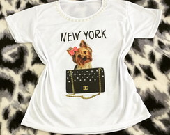 Baby look Customizada - New York Yorkshire