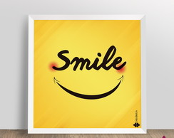 Poster Smile 10x10