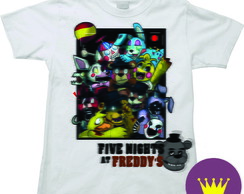 Camiseta Infantil Five Nights at Freddy's 06