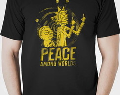Camiseta Rick and Morty Netflix Seriado Lançamento