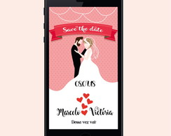 SAVE THE DATE DIGITAL - CASAMENTO - 12