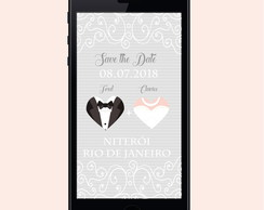 SAVE THE DATE DIGITAL - CASAMENTO - 19