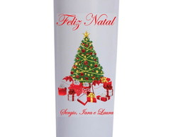Copo Long Drink 350 ML Personalizado de Natal
