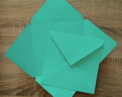 Envelopes Azul Tiffany