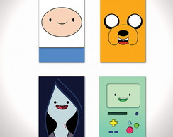 Kit Quadros Decorativos hora aventura adventure time