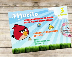 Arte Digital - Angry Birds