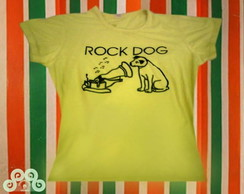 CAMISETA ROCK DOG