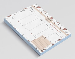 PLANNER DE MESA SEMANAL FASHION SHOES