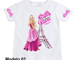 camiseta Barbie modelo 02