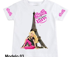 camiseta Barbie modelo 03