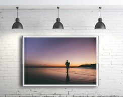 Quadro Decorativo Surfista Surf [174]
