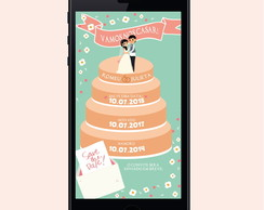 SAVE THE DATE DIGITAL - CASAMENTO - 22