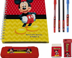 Kit Escolar N° 1 - Mickey