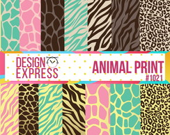 Papel Digital - Animal print