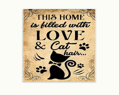 Quadro Decorativo Cat Hair