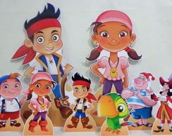 Kit Festa Infantil Jake e os Piratas