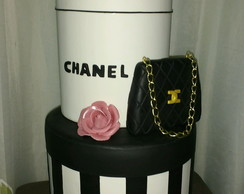 BOLO ANIVERSSARIO BISCUIT CHANEL