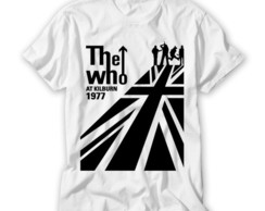 Camiseta Banda de Rock The Who