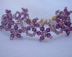 Pulseira Star Purple