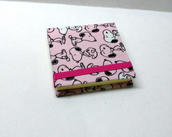 Bloco Post it Snoopy Rosa