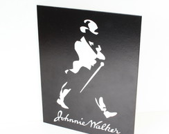 Placa Decorativa Prolab Gift Johnnie Walker 20x25cm