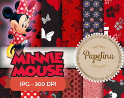 Papel Digital MINNIE VERMELHA 2000