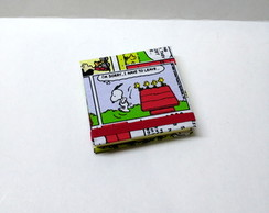 Bloco Porta Post it Snoopy Quadrinhos